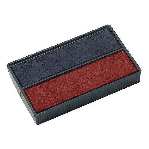 Colop E/4850 Replacement Pad Blue/Red E4850 Pack of 2