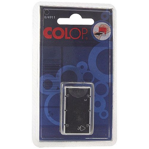 Colop E/4911 Replacement Pad Black E4911 Pack of 2