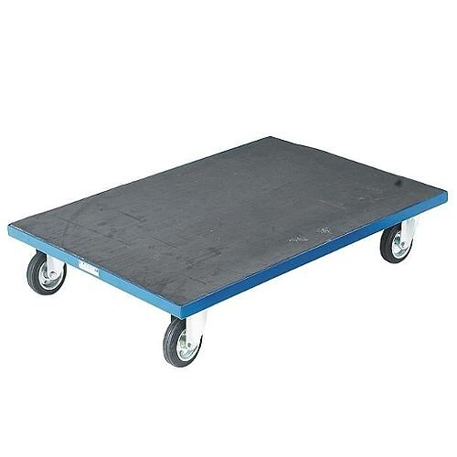 Container Dolly with Anti-Slip Surface Blue