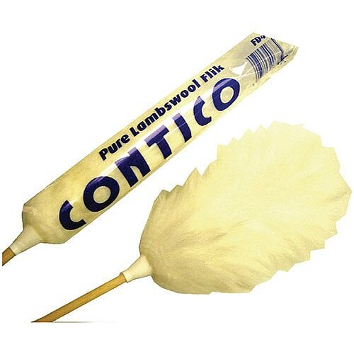 White 48 Inch Flick Duster (Pack 1) 101009