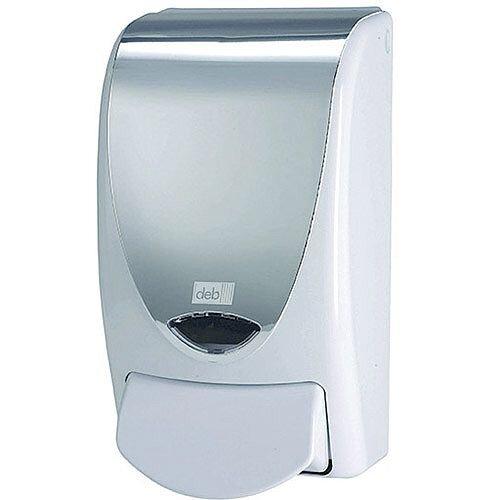 DEB Proline Chrome Soap Dispenser Capacity 1000ml PROLCHROME