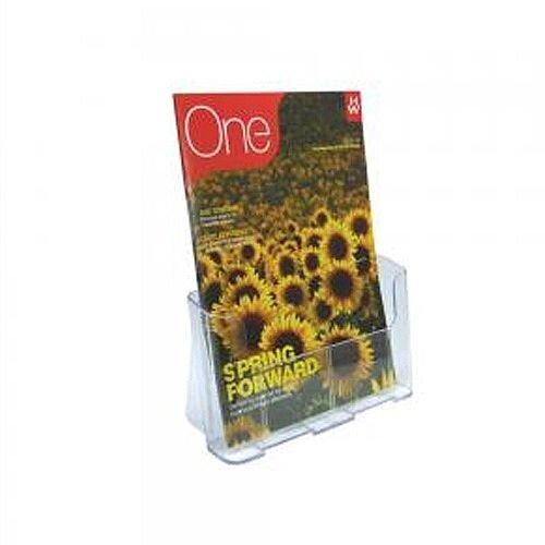 Deflecto Literature Holder A4 Clear 78001