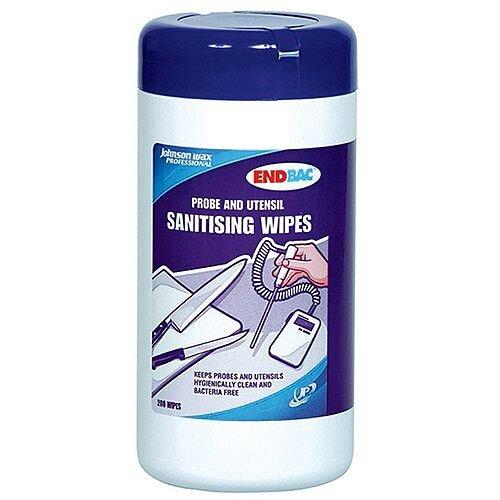Diversey Endbac Sanitising Wipes in Tube Pack 1 (200 Wipes) 420990