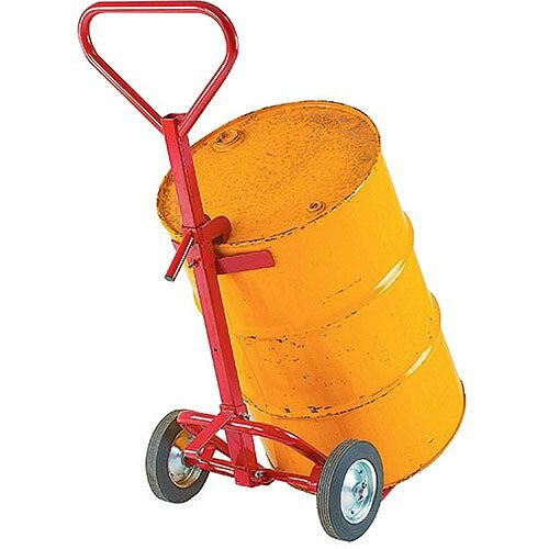 Drum Truck Red With Claw Capacity 350kg Rubber Wheels 7264A