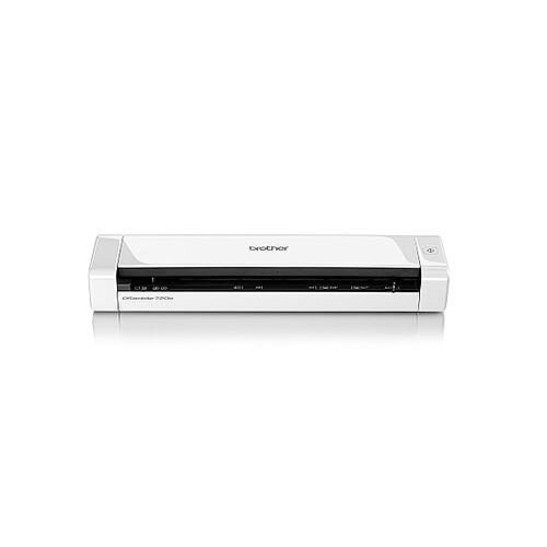 Brother DS-720D Portable Document Scanner, A4 Size, Colour Scanning, Duplexing, USB 2.0 Powered, Windows - Mac - Linux Compatible