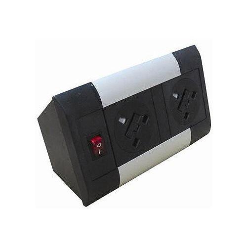 Algar DTK 2 x Power Only Desk Top Unit DTK2P