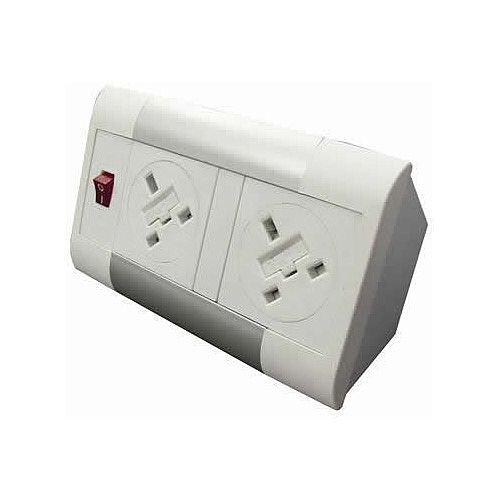 Algar DTK 2 x Power Only Desk Top Unit DTK2PSW