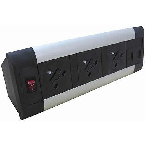 Algar DTK 3 x Power &2 x Data Desk Top Unit DTK3P2D