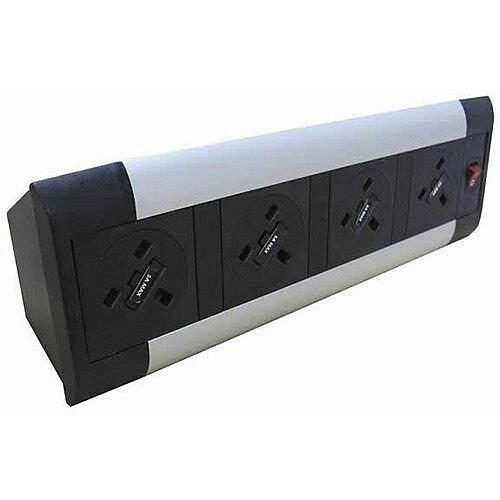Algar DTK 4 x Power Only Desk Top Unit DTK4P