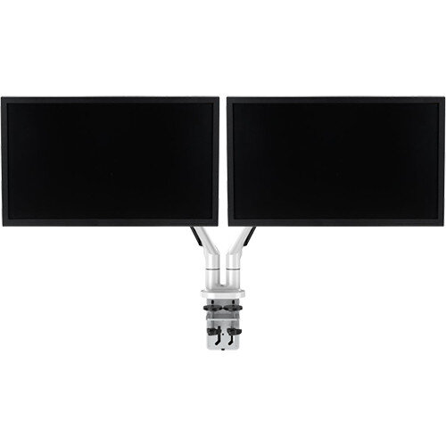 "Double Monitor Arm With 2 x LED Computer Monitor Full HD 22"" 16:9 Bundle Offer"