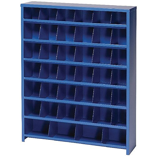 Economy Mailroom Sorter Pigeon Hole 40 Bin Blue