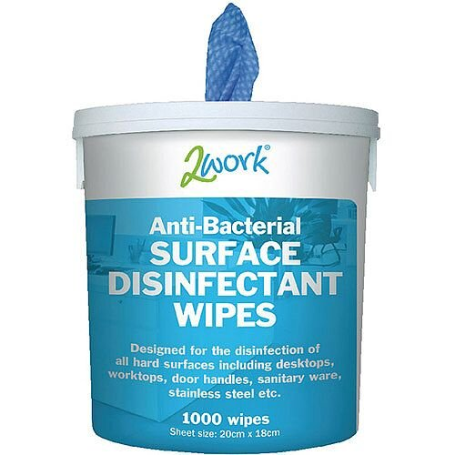 Ecotech Disinfectant Wipe Bucket Pack 1 (Contains 1000 Wet Wipes)