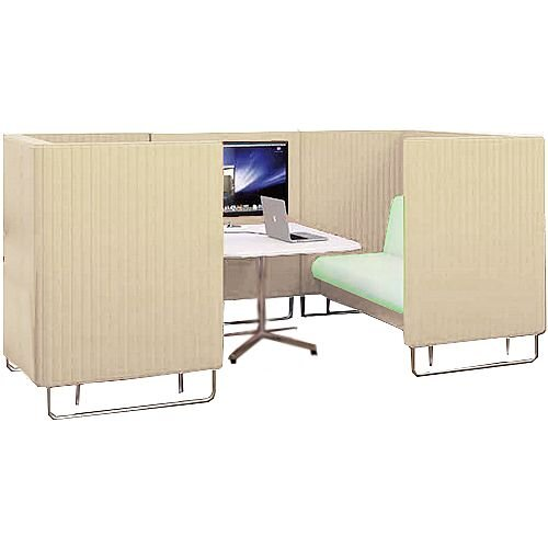 Acoustic Meeting Pod EDEN Cream Beige