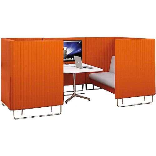 Acoustic Meeting Pod EDEN Orange