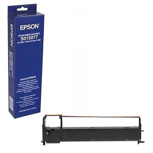 Epson Fabric Ribbon Cartridge Colour LQ-300 S015077 C13S015077