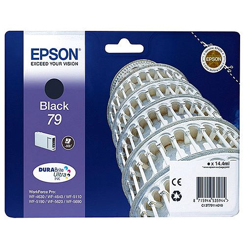 Epson No 79 Pisa Black Inkjet Cartridges C13T79114010