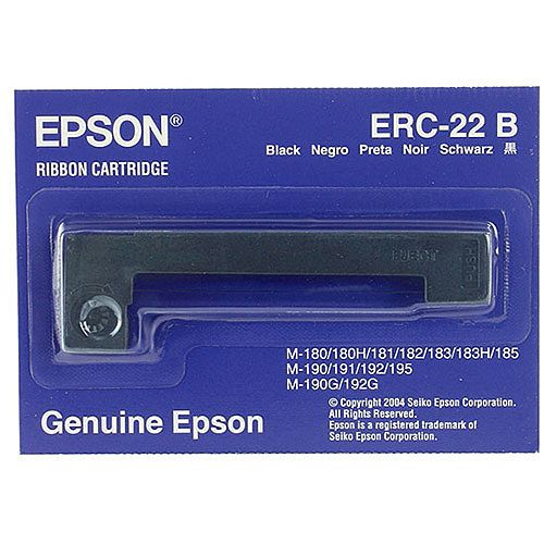 Epson ERC22 Fabric Ribbon Black C43S015358