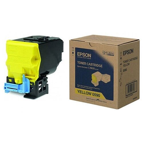 Epson S050590 Yellow Toner Cartridge C13S050590 6000+ Pages