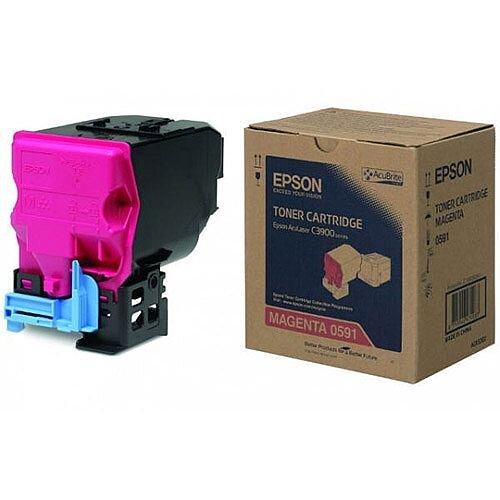 Epson S050591 Magenta Laser Toner Cartridge C13S050591 6000+ Pages
