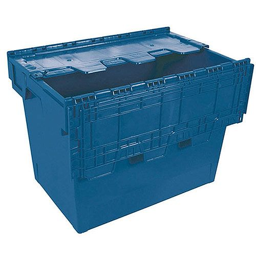 Eurobox with Cover Blue 382595