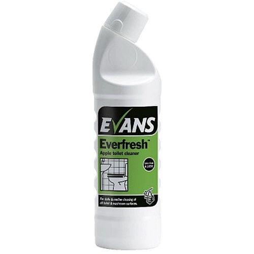 Evans Everfresh Apple Toilet Cleaner 1L A103AEV