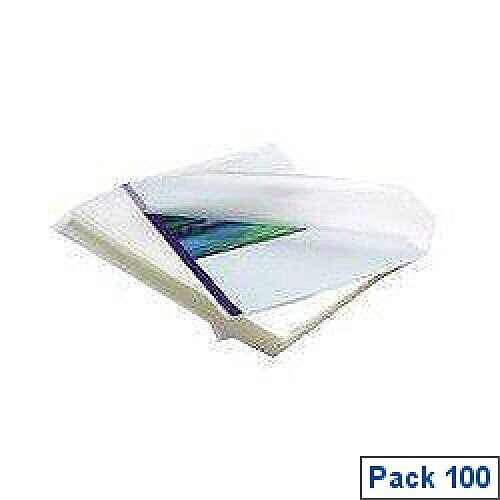 Fellowes Apex Laminating Pouch A4 Medium Duty Clear Pack of 100 6003501