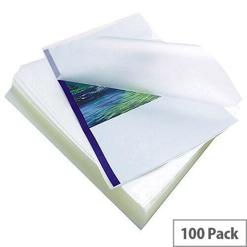 Fellowes Apex Laminating Pouch A4 Standard Clear Pack of 100