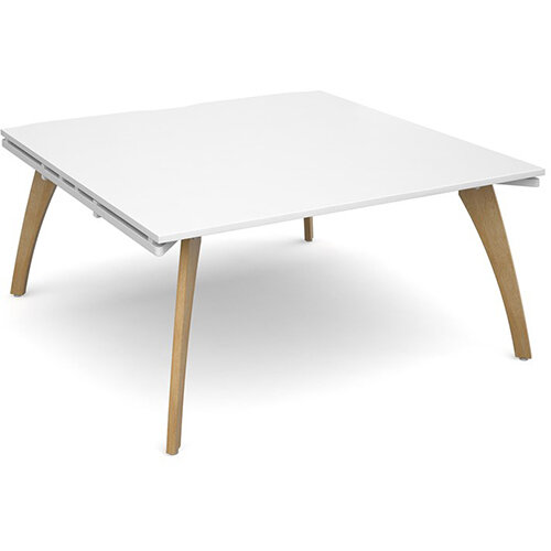 Fuze Boardroom Table Starter Unit White W1600 x D 2x800mm