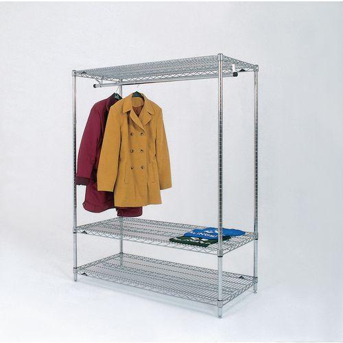 Garment Hanging Rail 1848S Static 366042