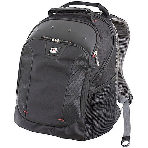 "Gino Ferrari Juno 16"" Laptop Backpack Black"