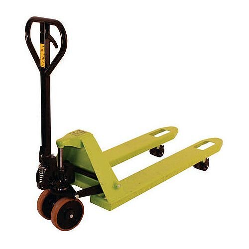 Hand Pallet Truck 2 Tonne Capacity Red W160mm 368369