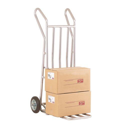 Aluminium Folding Footiron Sack Truck Capacity 150kg With Rubber Wheels 309033