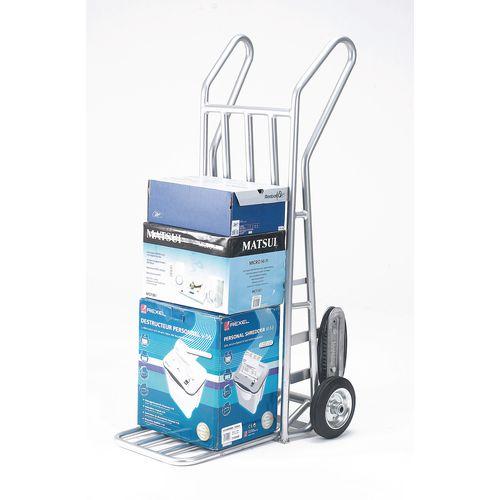Aluminium Folding Footiron Stairclimbing Sack Truck Capacity 150kg With Rubber Wheels 309034