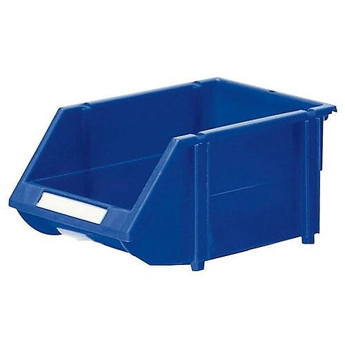 Heavy Duty Storage Bin Pack of 12 Blue 360234