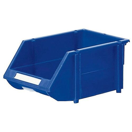 Heavy Duty Storage Bin Pack of 18 Blue 360233