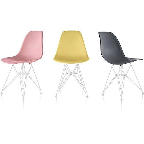Herman Miller Eames Molded Plastic Chairs