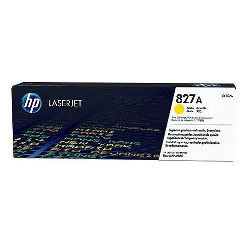 HP 827A Laserjet Toner Cartridge (CF302A) Yellow HPCF302A