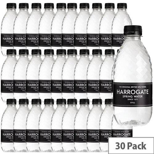 Harrogate Spa Spring Water Still Plastic Bottle 330ml Pack of 30