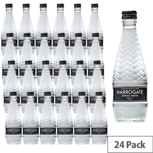 Harrogate Spring Bottled Water Still Glass 330ml Pack of 24