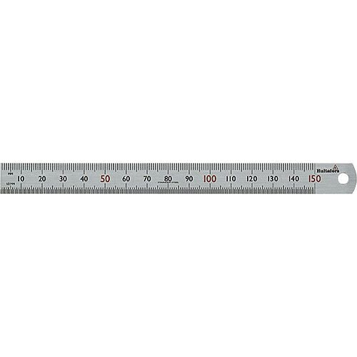 Steel Ruler STL 150 150mm Long mm Graduation Pack of 5