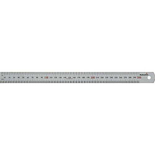 Steel Ruler STL 300 300mm Long mm Graduation Pack of 5