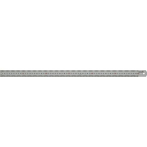 Steel Ruler STL 600 600mm Long mm Graduation Pack of 5
