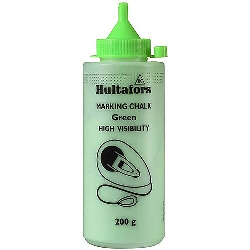 Chalkline Chalk H.V GREEN 200 200g Pack of 6