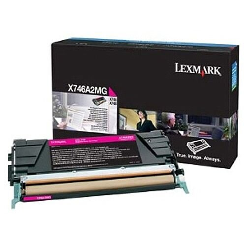 Lexmark X746/X748 Toner Cartridge Magenta X746A2MG