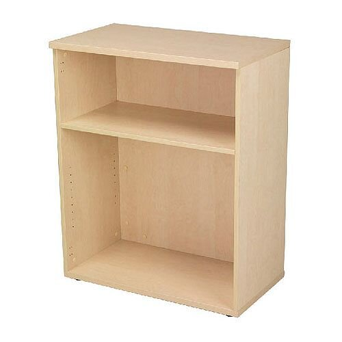 Jemini 1000mm Bookcase 1 Shelf Maple KF838421