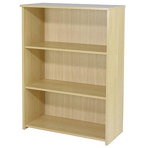 Jemini 1200mm Medium Bookcase Oak KF73513