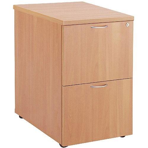 Jemini 2-Drawer Filing Cabinet Beech KF71955
