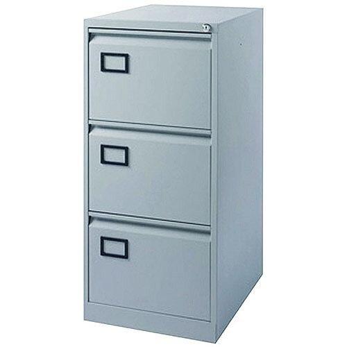 3-Drawer Filing Cabinet Pearl Grey Jemini By Bisley