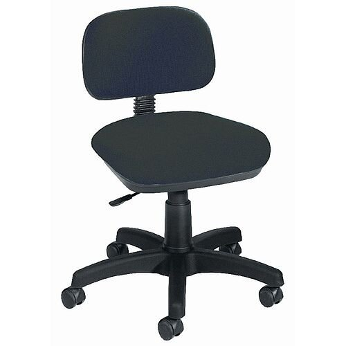 Jemini Gas-Lift Typist Office Chair Charcoal