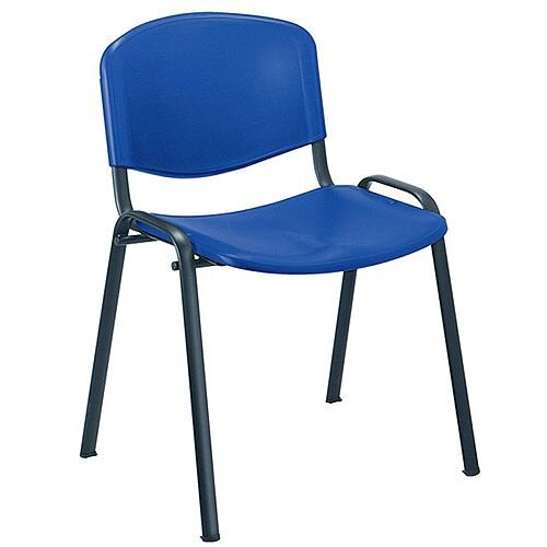 Jemini Multi-Purpose Polypropylene Stacking Chair Blue KF72368
